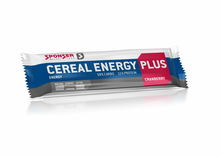 Cereal Energy Plus Bar Cranberry