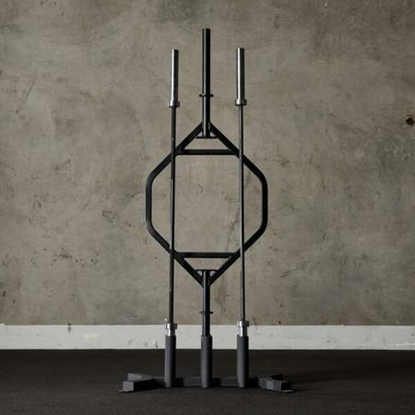 Vertical 6 bar rack